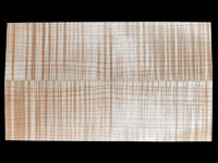 AAAA Curly Maple Violin Back Tonewood Set